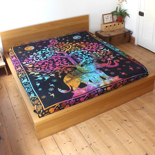 Elephant Tree Bedspread