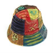 Ripped Cotton Sun Hat