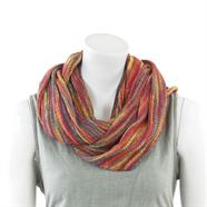 Knitted Cotton Infinity Scarf