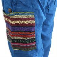 Thai Weave Pocket Harem Trousers