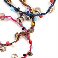 Charm Anklet with Shell