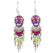 Calavera Skull Earrings