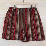 Larger Thai Weave Cotton Shorts