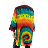 Swirl Tie Dye Shrug