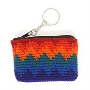 Mini Crochet Keyring Purse