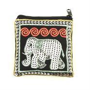 Sequin Elephant Pocket Purse