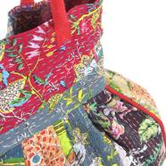 Kantha Stitch Beach Bag