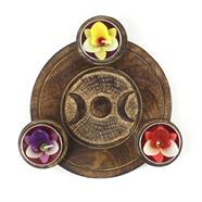 Triple Goddess T-Light Holder