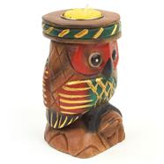 Perched Owl T-Light Holder