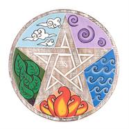 Elemental Pentacle Plaque