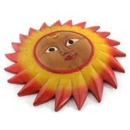 Carved Painted Sun