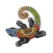 Bright Curly Gecko Plaque