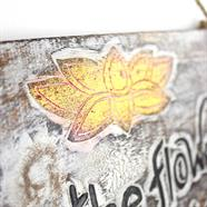 Peace is the Flower... Plaque