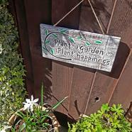 Plant a Garden... Plaque
