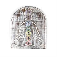 Meditation Chakra Plaque