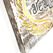 Angel Hugs Plaque