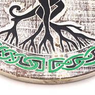 Tree Couple Plaque