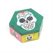Hexagonal Candy Skull Box