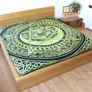 Celtic Pentacle Bedspread