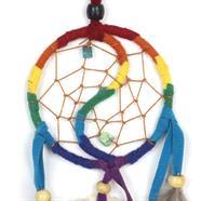 Rainbow Yin Yang Dreamcatcher