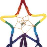 Rainbow Star Dreamcatcher