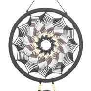 Woven Swirl Crochet Dreamcatcher