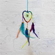 Heart Bright Rainbow Dreamcatcher