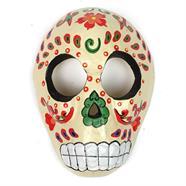 Cream Candy Skull Mask