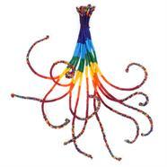 Round Rainbow Friendship Bracelets