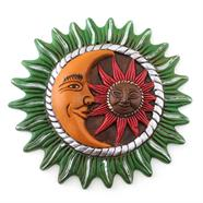 Mexican Sun and Moon Plaque