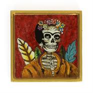 Lady Folk Art Frame