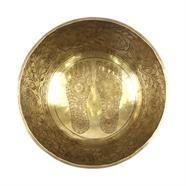 Buddha Footprint Artisan Bowl no.144