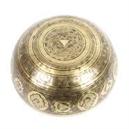 Buddha Footprint Artisan Bowl no.145