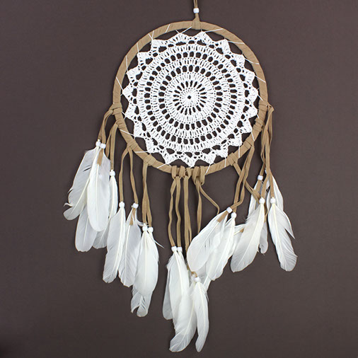 Crocheted Dream Catchers Handmade Fair Trade From Siesta