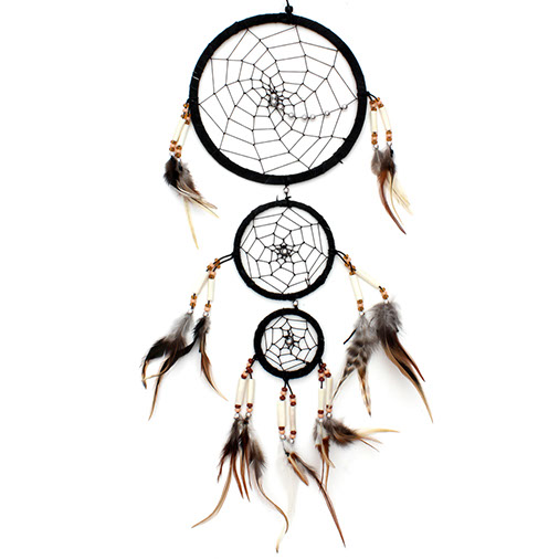 Triple Hoop Dreamcatcher
