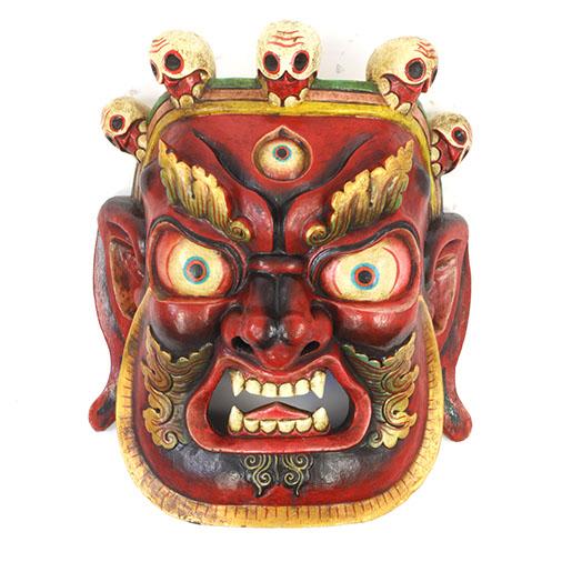 Large Artisan Bhairab Mask No.78