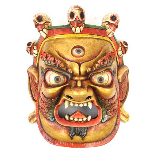 Large Artisan Bhairab Mask No.77