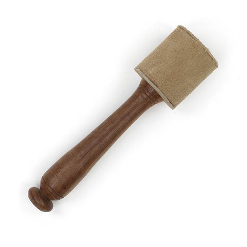 Suede Singing Bowl Stick / Striker