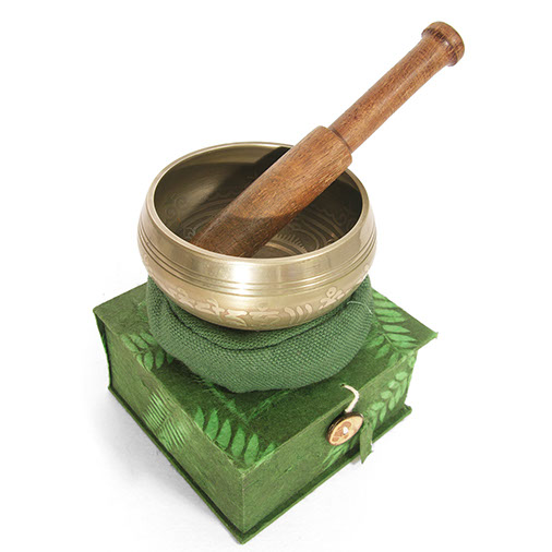 Green Box Singing Bowl Set