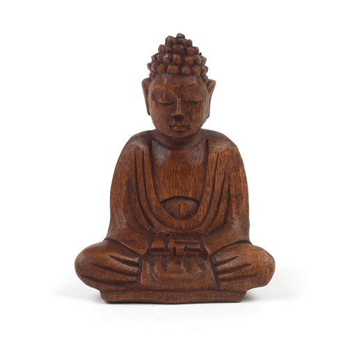 Buy Antique Handcrafted Buddha Lantern For Corporate: Small Wooden Hand Carved Buddha Buy At Siesta