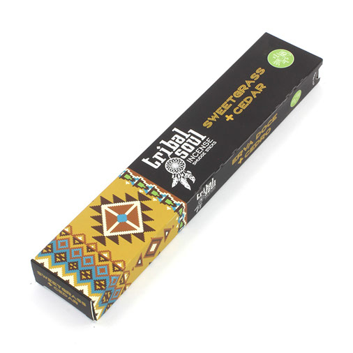 Tribal Soul Sweetgrass and Cedar Incense