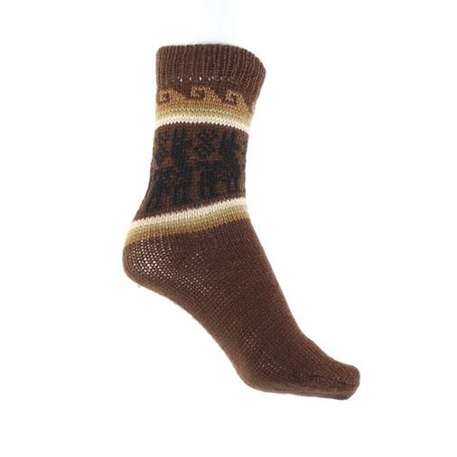 Winter Llama Socks