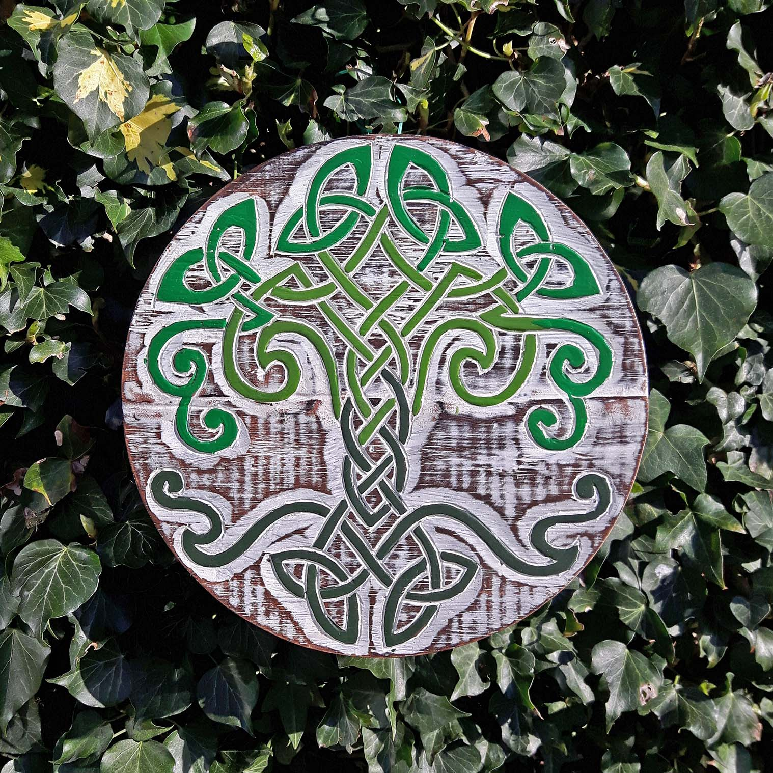 Celtic Tree Knot Plaque
