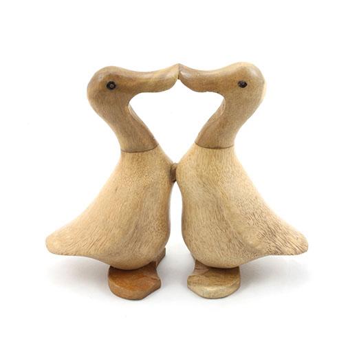 Kissing Bamboo Root Ducks