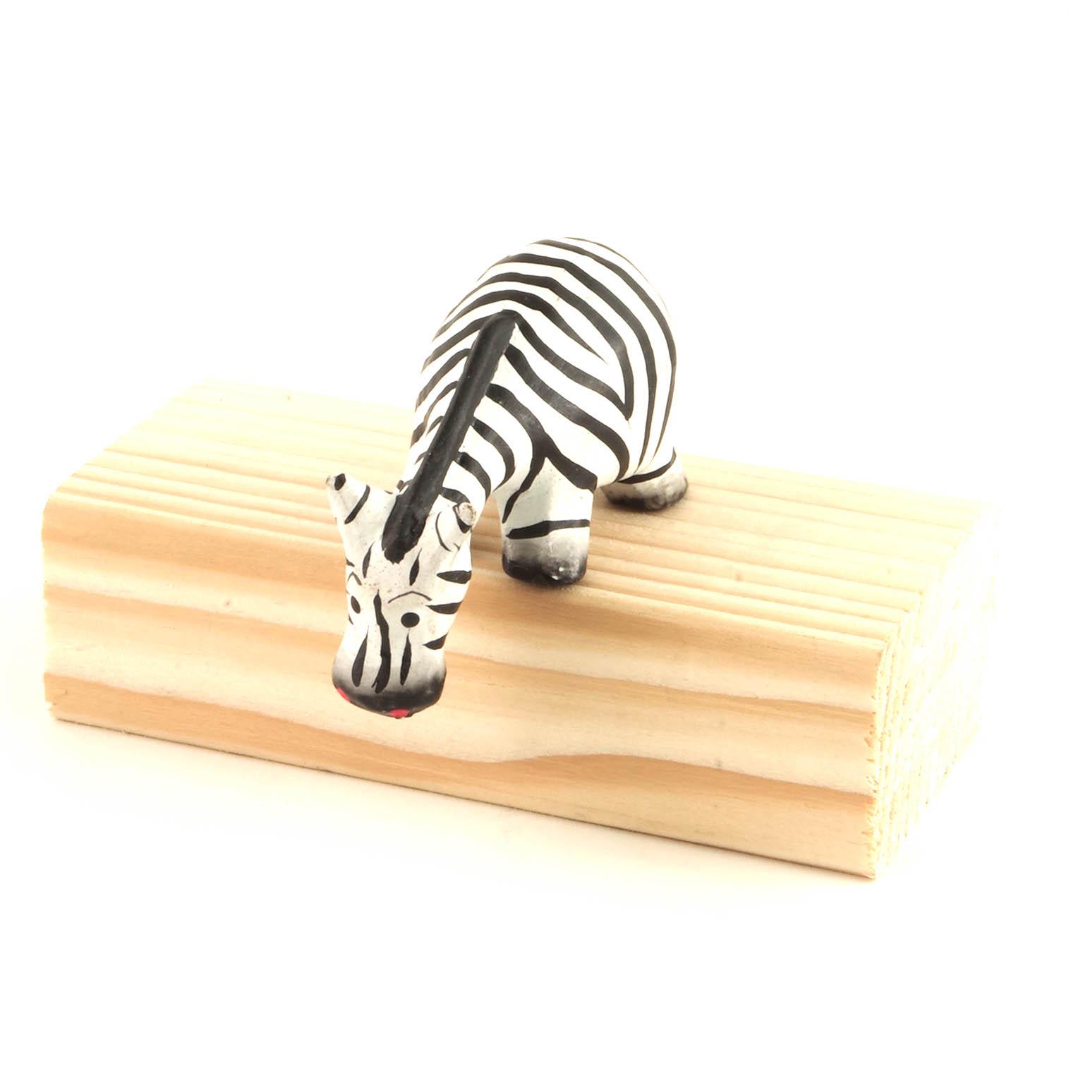 Cartoon Shelf Zebra
