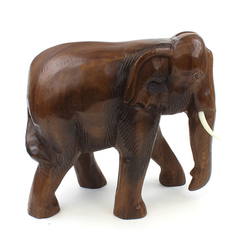 Large Thai Elephant Carving