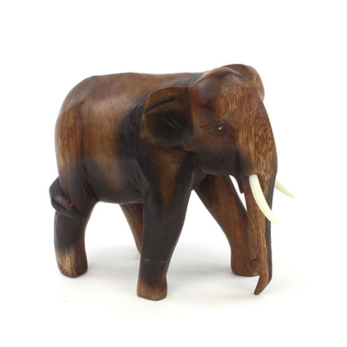 Medium Thai Elephant Carving