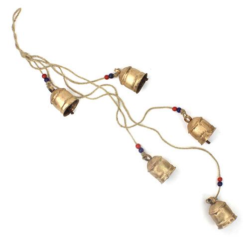 Rustic Bells on Rope