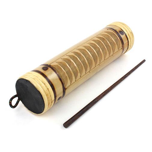 Bamboo Güiro and Shaker