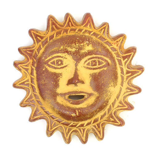 Large Ceramic Sun Face